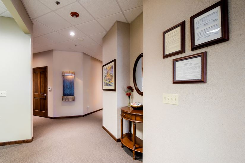 Hallways and operatories from Sussex Dental
